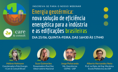 Webinar – geothermal energy a solution for Brazil? – June 26, 2020