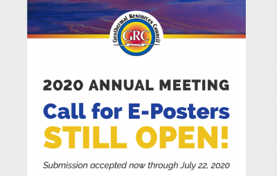 E-Poster submission for Digital GRC Annual Meeting 2020, deadline July 22, 2020