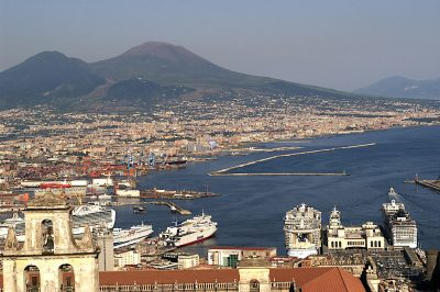 The history and great opportunity for geothermal power generation in Campania, Italy
