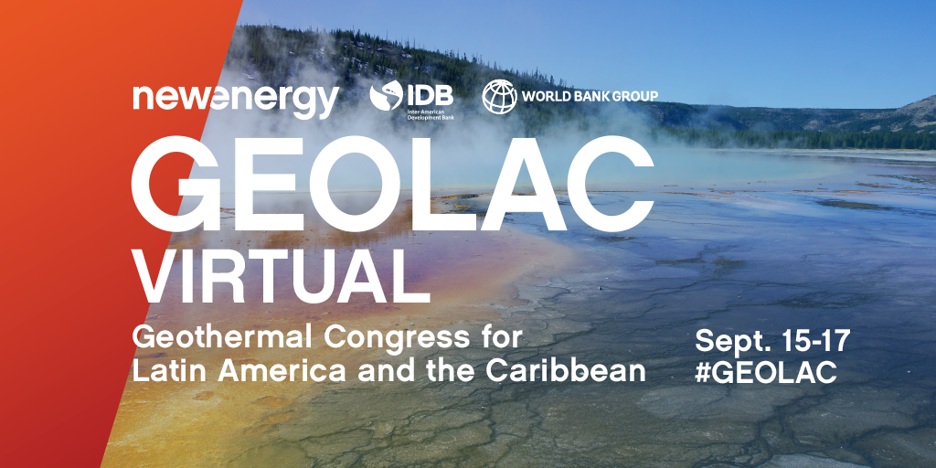 7th Geothermal Congress for Latin America & Caribbean Virtual, Sept. 15-17, 2020