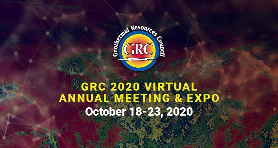 GRC Virtual Annual Meeting & Expo, Oct. 18-23, 2020 – Early Bird registration by Sept. 18, 2020