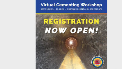GRC/ SPE Virtual Well Cementing Workshop, Sept. 14-16, 2020