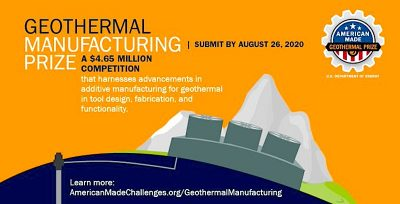 Geothermal Manufacturing Prize – Semifinalists announced