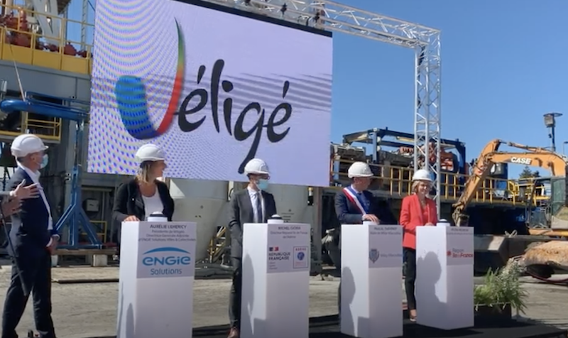 Drilling for geothermal heating project launched in Vélizy near Paris, France