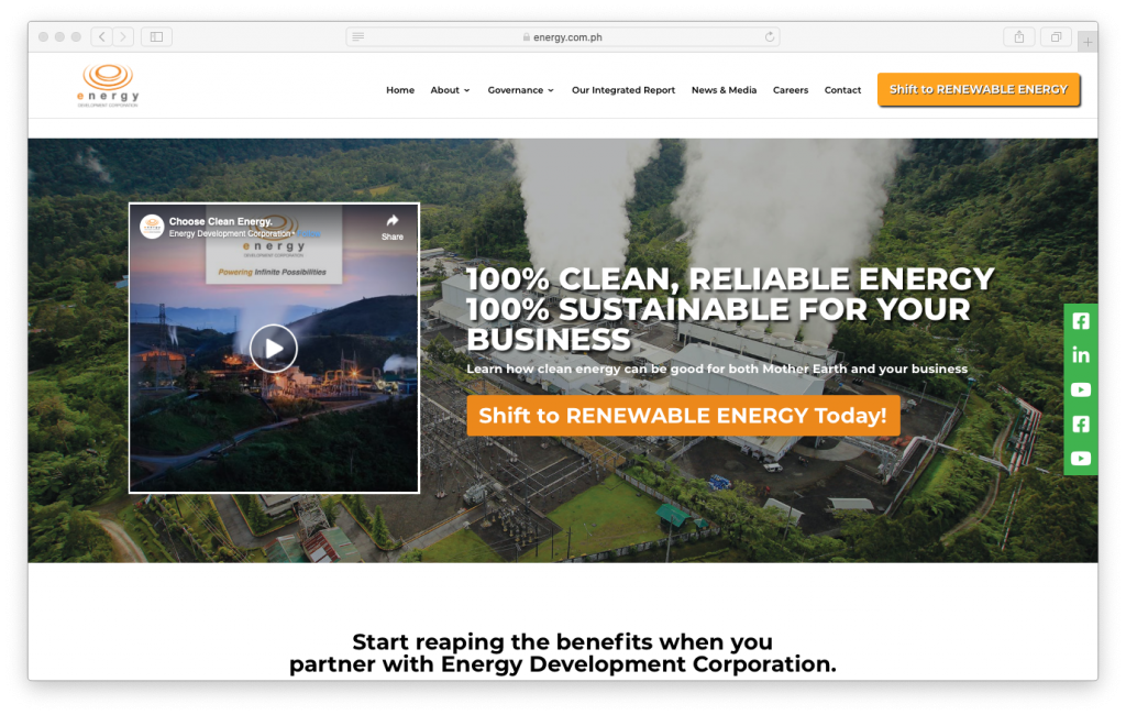 Case Study – Selling geothermal electricity – EDC in the Philippines