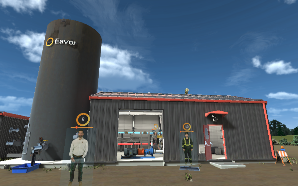 Virtual Reality Tour let's you check out Eavor's closed-loop geothermal pilot project