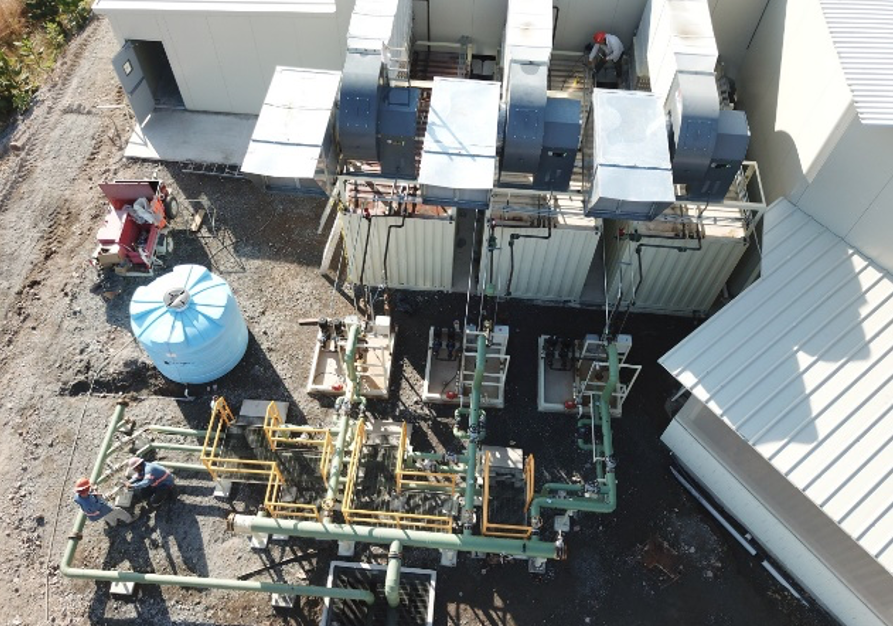 First industrial-grade geothermal food dehydrator of Latin America installed in Nayarit, Mexico