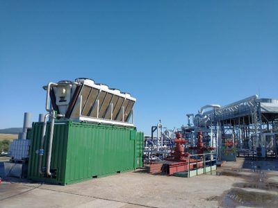 Small-scale ORC units of MEET geothermal project arrived on demo sites