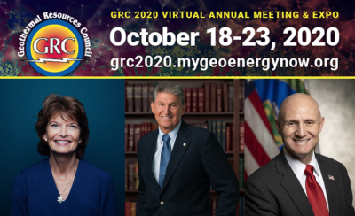 Powerful opening to GRC Annual Meeting highlights role of geothermal anywhere and anytime