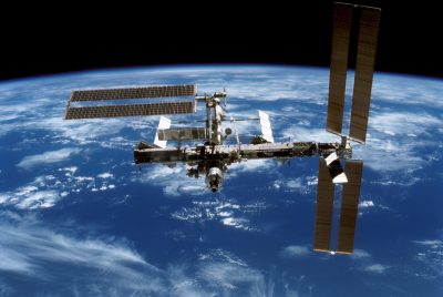 Exploring for geothermal energy from the International Space Station