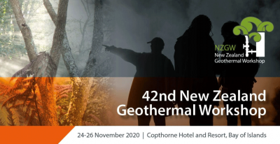 2020 NZ Geothermal Workshop 24-26 Nov. 2020 with virtual package for intl. participants
