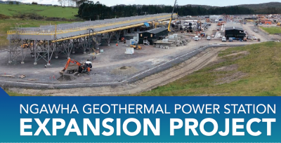 Start of of 31.5 MW Ngawha geothermal plant expansion on target for year-end 2020