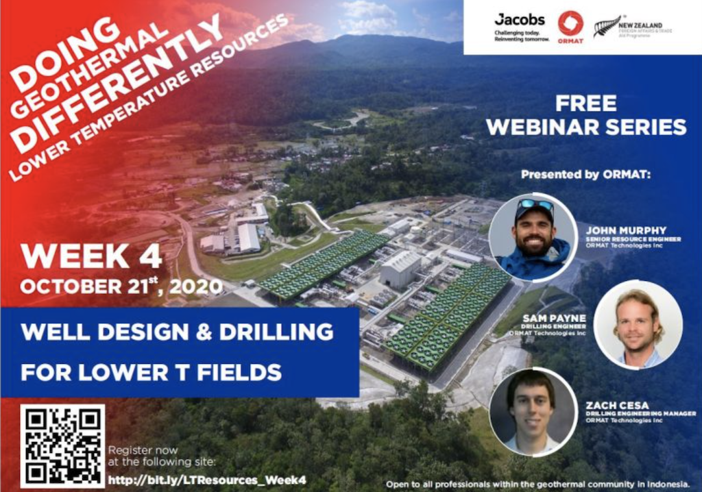 Webinar – Well Design & Drilling for Lower T Fields, Oct 21, 2020