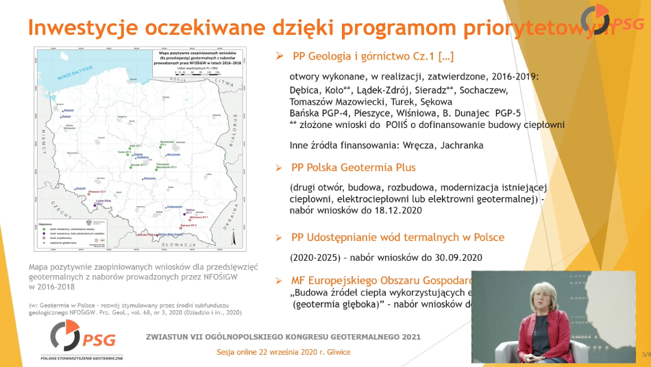 Recording of Annual Meeting of Polish Geothermal Association (in Polish)