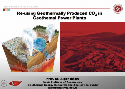 Webinar Recording – Re-using geothermal produced CO2 in geothermal power plants