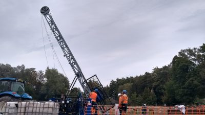 Early exploration drilling started to explore geothermal heat potential in NRW, Germany