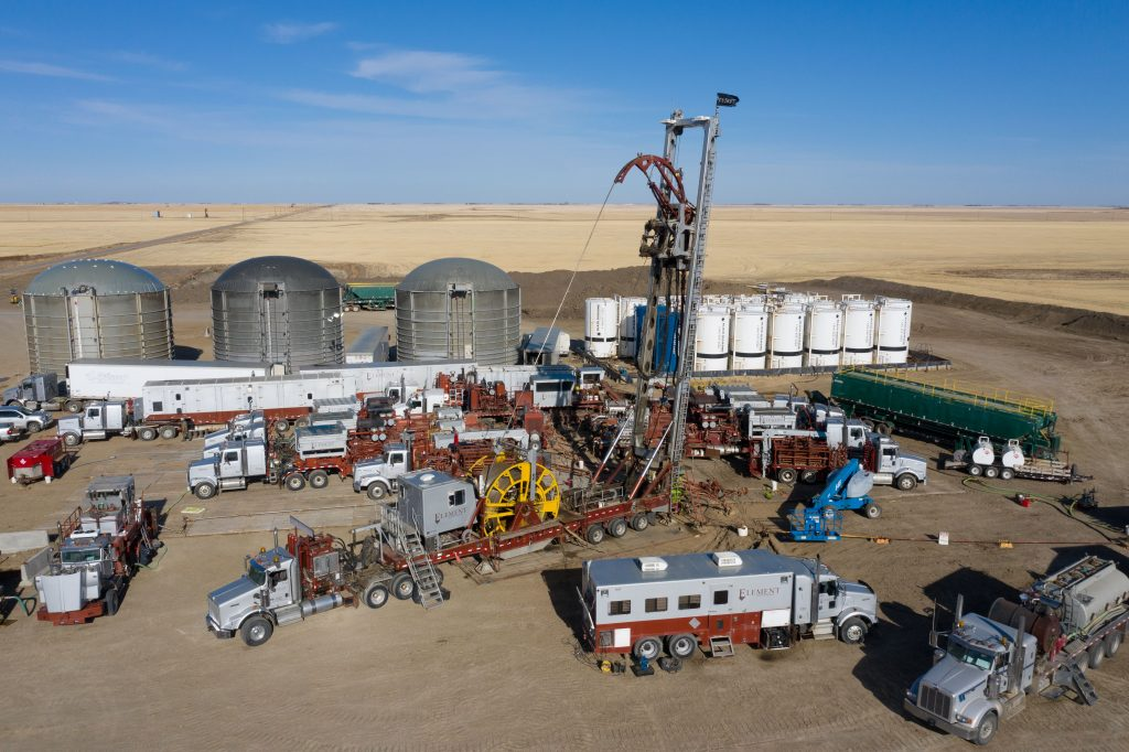 Outstanding flow results from well-tests at Saskatchewan geothermal power project