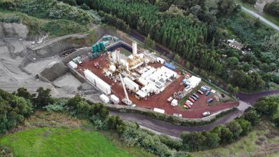 Drilling under way for geothermal expansion project on Azores Islands, Portugal