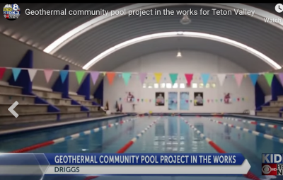 Local region in Idaho and Wyoming exploring geothermal for wider community use