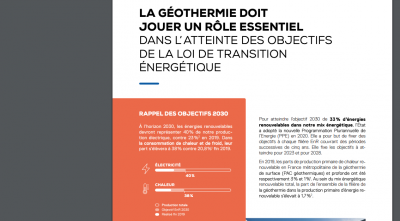 Geothermal energy in France – what is needed for tapping its potential?