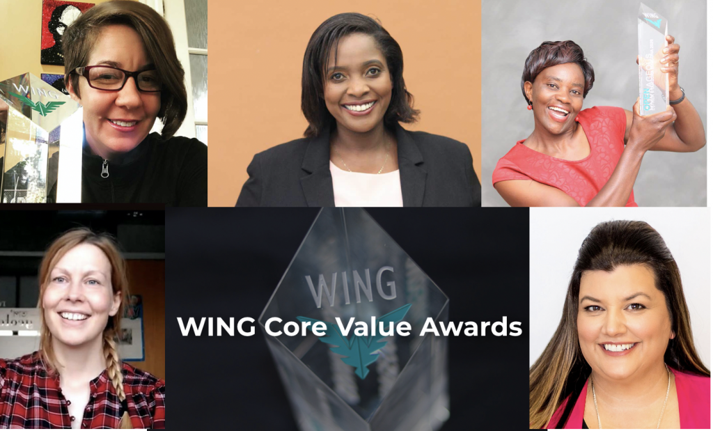 Courageous, empowering, open and caring – awardees of Women in Geothermal (WING) Awards