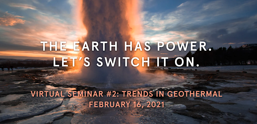 Vinod Khosla main speaker at upcoming Virtual Seminar on geothermal trends, Feb. 16, 2021