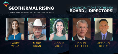 Geothermal Rising appoints five new members to its Board of Directors