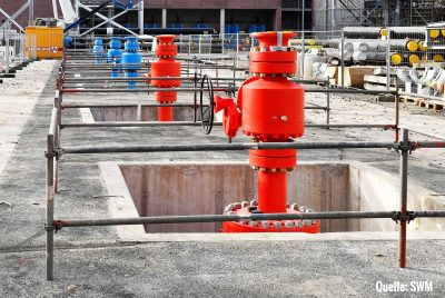 Wellhead & Ball valves as interface between subsurface geothermal reservoirs and plant