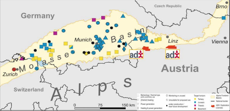 Commercial agreement reached for geothermal pilot in Austria