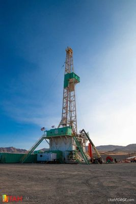 With first well drilled, what are the next steps for the Utah FORGE project?
