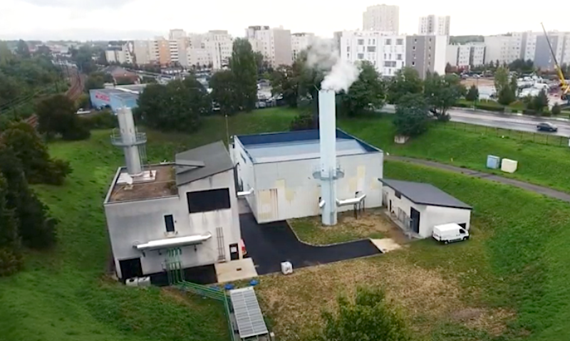 Virtual Tour of Geothermal Heat Plant, Dammarie-les-Lys, France