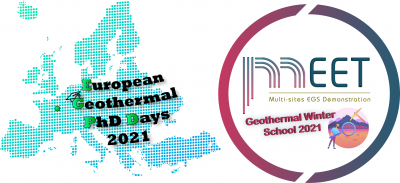 MEET Geothermal Winter School 2021 events, Feb. 15-19, 2021