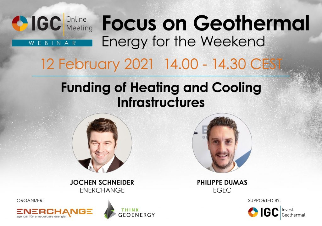 Webinar – Funding of Heating and Cooling Infrastructure, Feb. 12, 2021