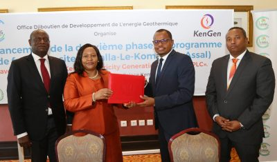KenGen wins geothermal drilling contract for three wells in Djibouti