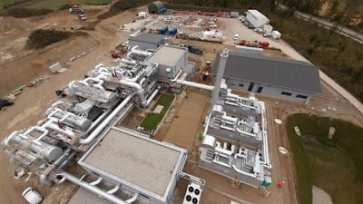 Garching an der Alz geothermal plant in Bavaria starts operation