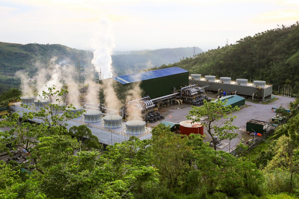 Mahanagdong geothermal plant, Leyte, Philippines (source: EDC)