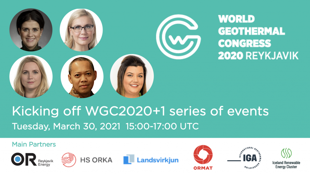 Kicking off WGC2020+1 – join in on March 30, 2021