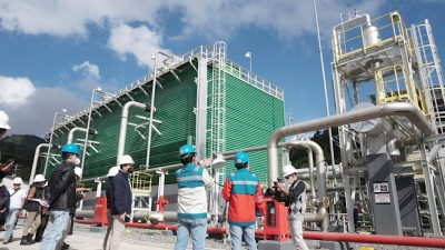 First tests conducted on 10 MW Dieng geothermal plant