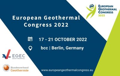 European Geothermal Congress 2022 – Berlin, Germany