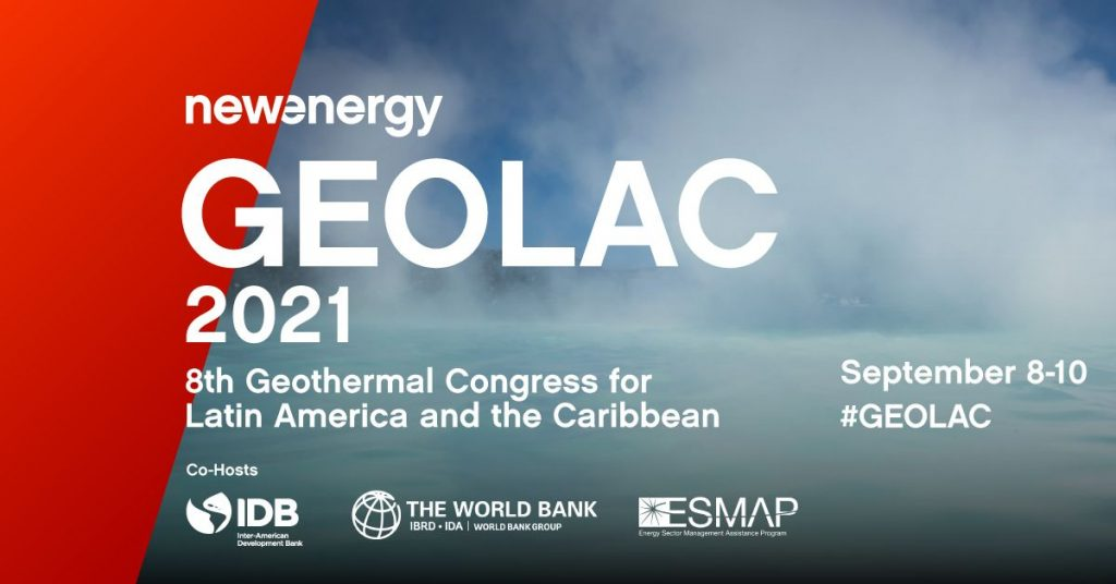 Exciting agenda for 8th GEOLAC congress, Sept. 8-10, 2021