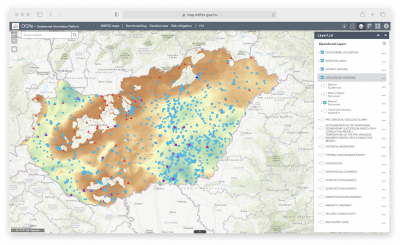 Hungary's interactive geothermal information platform