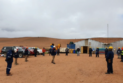 Site work kicked off for Laguna Colorada project, Bolivia