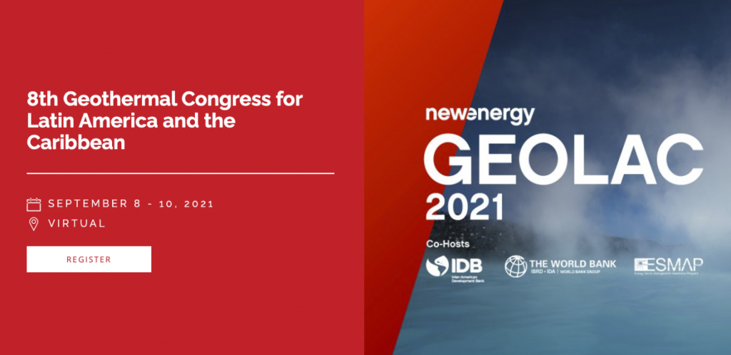 8th GEOLAC Geothermal Congress, Sept. 8-10, 2021