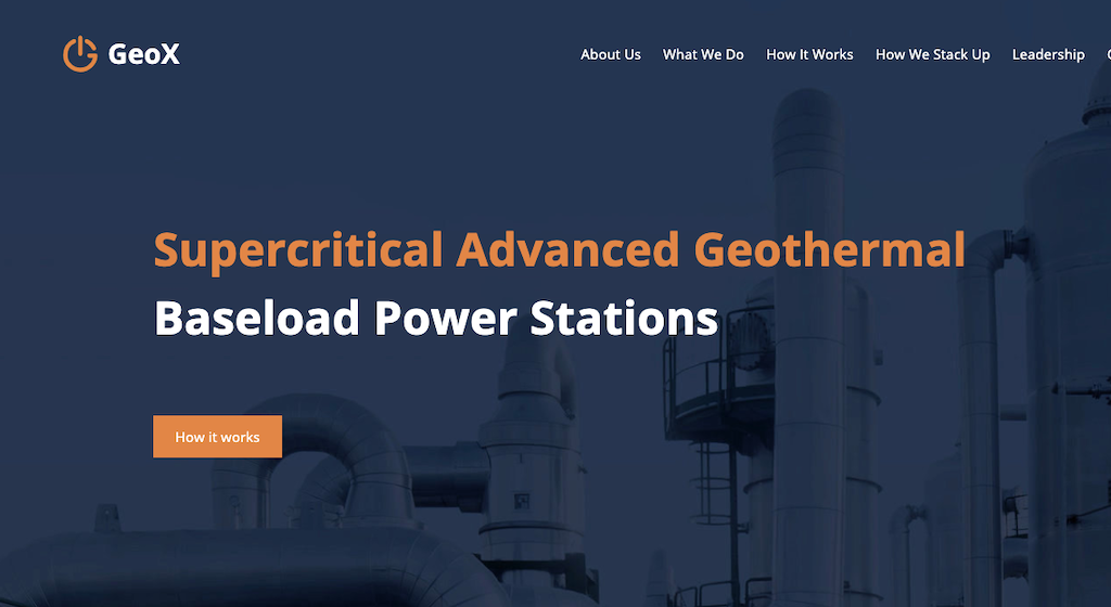 Industry investment into supercritical geothermal technology