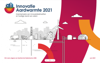 Geothermal Heat Innovation Inventory Report for the Netherlands