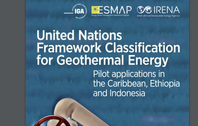 Pilot application of UNFC classification for geothermal