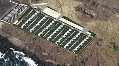 Large-scale salmon farming operations to tap geothermal