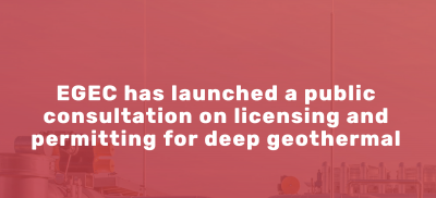 EGEC Consultation on geothermal EIA and licensing
