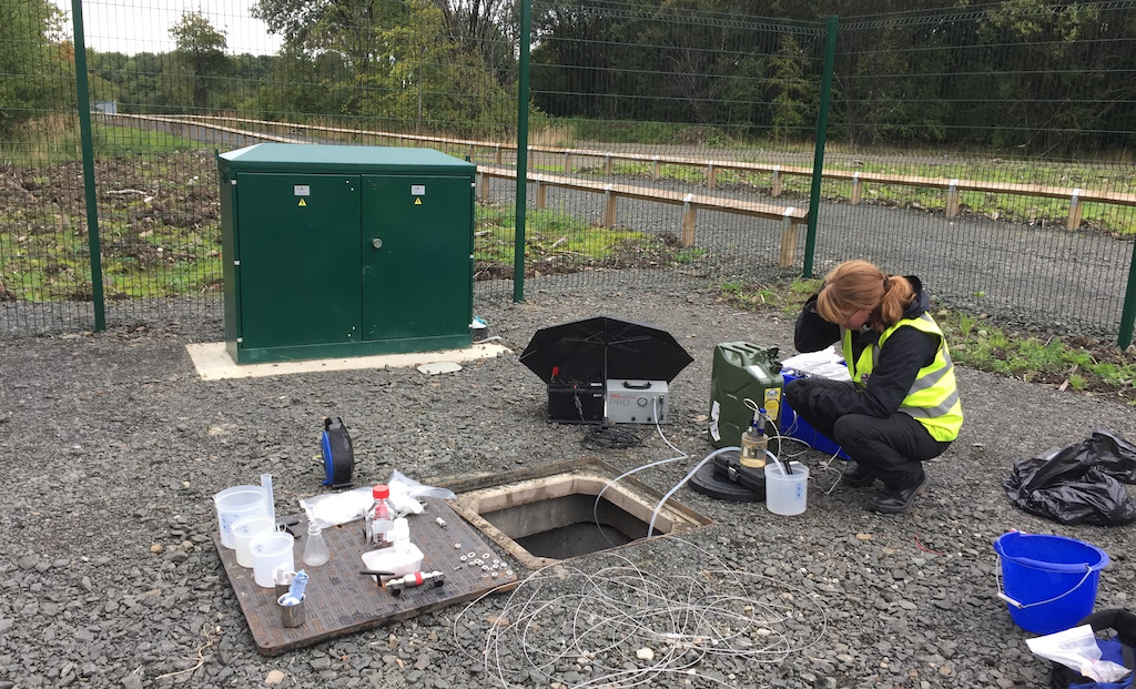 First survey with good indication for mine water use in Glasgow, UK