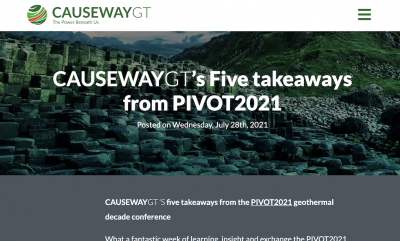Five key takeways from Pivot2021 Geothermal.Reimagined